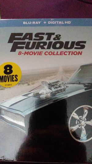 Fast & Furious 8 movie collection for Sale in Buffalo, NY