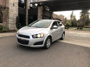 2014 Chevy sonic silver 4 dr for Sale in Salem, OR