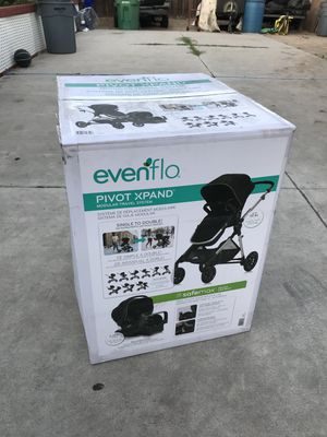 Evenflo Pivot Xpand double stroller for Sale in South Gate, CA