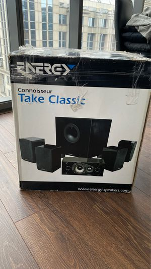 5.1 Energy Speakers - really good! for Sale in Chicago, IL