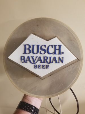 Vintage Busch Bavarian Beer Lighted Sign for Sale in Murfreesboro, TN