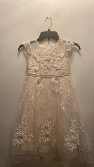 Flower girl dress size 5 for Sale in Parma Heights, OH