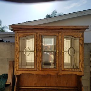 Antique Claw Foot China Cabinet for Sale in Azusa, CA