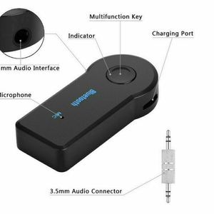 Wireless Bluetooth 3.5 mm Aux Audio Stereo Music Adapter New for Sale in Garden Grove, CA