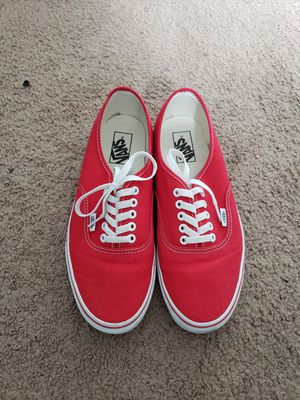 Vans Authentic Red Size 10 No Box for Sale in Los Angeles, CA