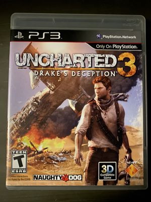Uncharted 3 for PS3 for Sale in National City, CA