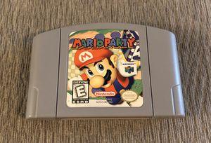 Mario Party - Nintendo 64 for Sale in Everett, WA