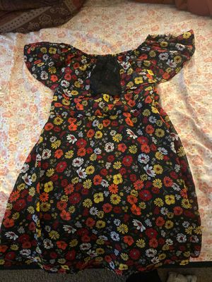 Girls summer flower dress size 7/8 for Sale in Raleigh, NC