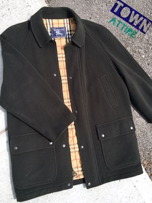 Men's Burberry Car Coat size large for Sale in Wenatchee, WA