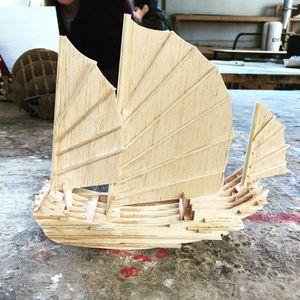 Handmade UMD artwork Wooden ship for Sale in Rockville, MD