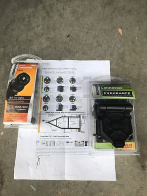 Trailer wiring connectors 7-wire for Sale in Gilbert, AZ