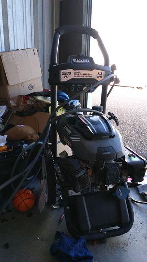 Mitsubishi black max 4 stroke 2.3gpm 2800 psi for Sale in Chesapeake, VA