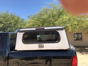 A..R.E Utility truck camper shell (off a 2000 Chevy s10 + working locks with keys) for Sale in Phoenix, AZ