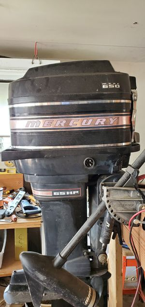 Mercury 65hp outboard working for Sale in Lemont, IL
