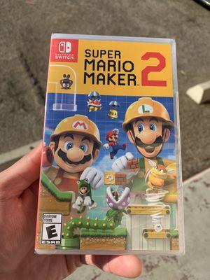 Super Mario maker 2 (BrandNew) Nintendo Switch for Sale in Riverside, CA