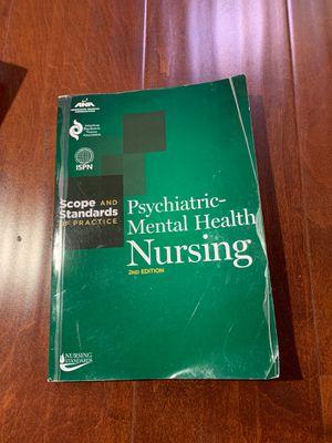 Psychiatric-Mental Health Nursing: Scope and Standards of Practice (American Nurses Association) for Sale in Walnut, CA