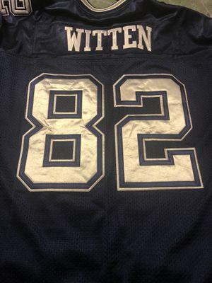Dallas Cowboys #82 Jason Witten Jersey! Reebok Size 56! 3XL! Like New! for Sale in Haltom City, TX