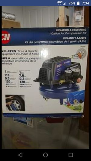Brand New 1 gallon pancake air compressor for Sale in Pittsburgh, PA