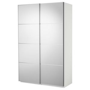 IKEA PAX CLOSET WITH SLIDING MIRRORED DOORS for Sale in Edgewater, NJ