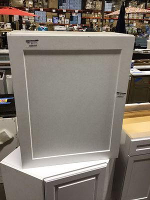 Hampton Assembled 24 in x 36 in x 12 in Wall Kitchen Cabinet in Satin White for Sale in Houston, TX