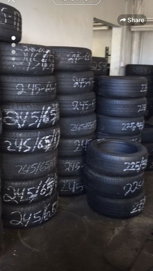 All used tire $34.99 include mountain In the oil change $29.99 for Sale in Jackson, MS