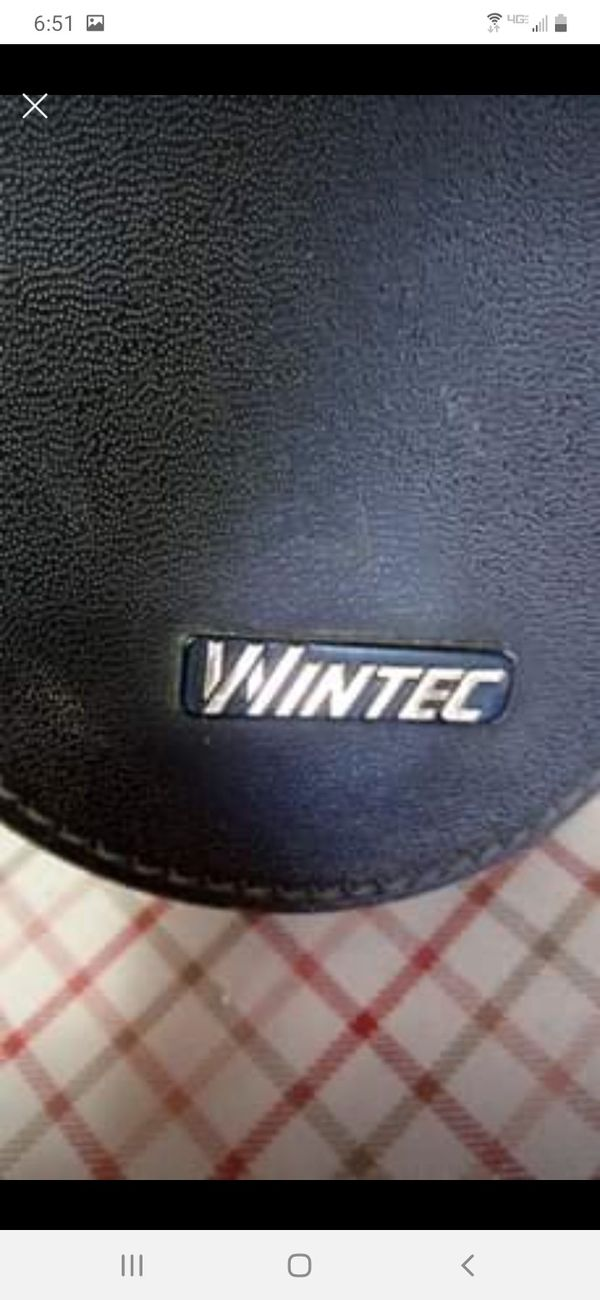 Wintec saddle with pad. 16 in
