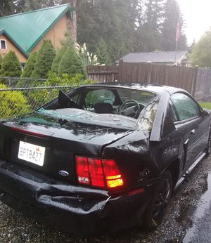 Crashed 2002 Mustang for Sale in Gig Harbor, WA