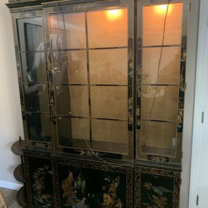 Black Lacquer China Furniture for Sale in Hanover, NJ