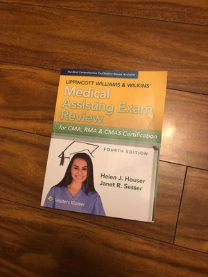 Medical Assisting Exam Review for CMA, RMA & CMAS Certification for Sale in West Carson, CA