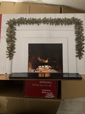 NEW XMAS HOLIDAY CHRISTMAS LED GARLAND SET OF 2 for Sale in Norwalk, CA