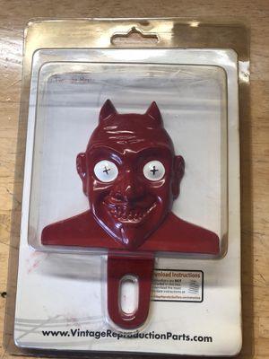 Vintage license plate topper devil for Sale in Chantilly, VA