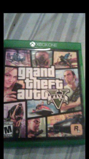 GTA V Xbox one for Sale in Corona, CA