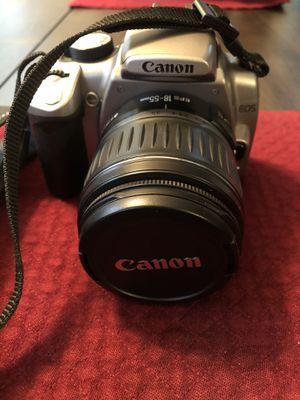 Canon Digital Rebel XT DSLR Camera with EF-S 18-55mm f3.5-5.6 Lens and Zoom EF 75-300mm Lens for Sale in Fredericksburg, VA