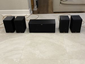 Klipsch R-14m (4 speakers) & R-25c & Pioneer Subwoofer for Sale in Pinellas Park, FL