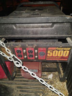 Coleman generator for Sale in Pueblo, CO