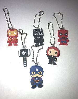 Avengers Clingers keychains/backpacks for Sale in Rancho Cucamonga, CA