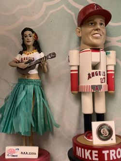 Angels Bobble Head And Nutcraker for Sale in Whittier,  CA