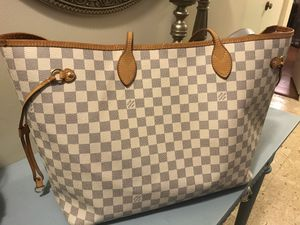 Authentic Louis Vuitton Neverfull GM Azur bag for Sale in Fairfax, VA