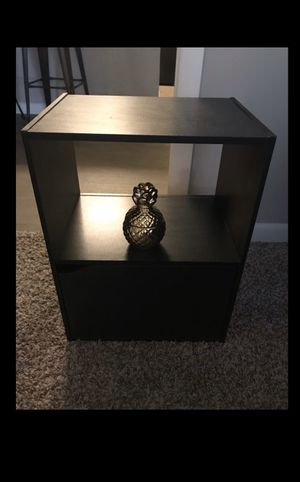 Black night stand for Sale in Raleigh, NC
