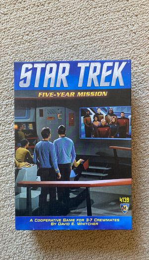 Star Trek Five-year Mission - board game for Sale in South Orange, NJ