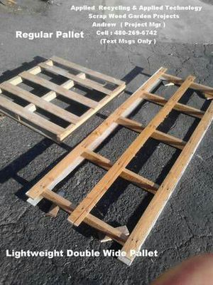 Long Light Pallets For Shade Areas For Dogs Or Goats for Sale in Tempe, AZ