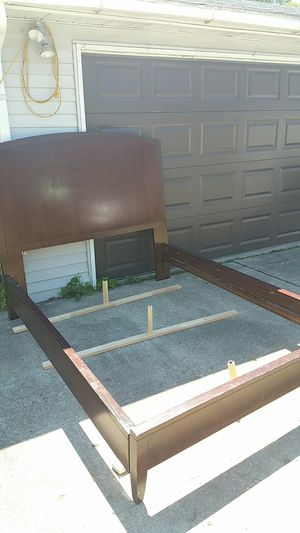Quality Queen Size Wood Bed Frame for Sale in Waterford Township, MI
