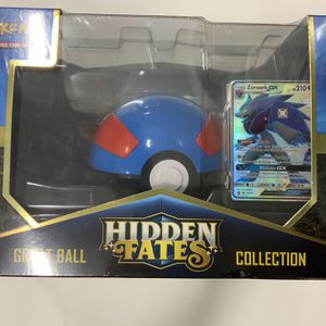 Hidden Fates Great Ball Collection Box - Siny Zoroark GX for Sale in West Hartford, CT