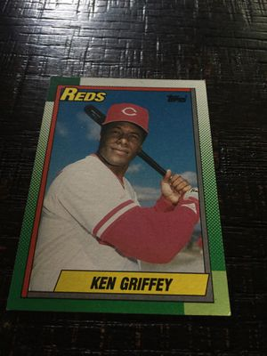 Topps Ken Griffey Baseball card for Sale in Houston, TX