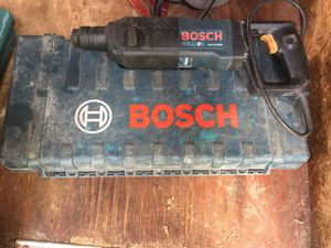 Bosch hammer drill for Sale in Tampa, FL