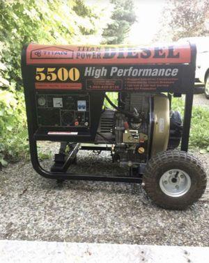 Titan Generator 5500 for Sale in Kent, WA