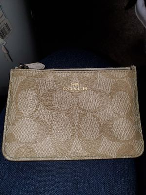 Authentic Coach Small Wallet for Sale in Vidor, TX