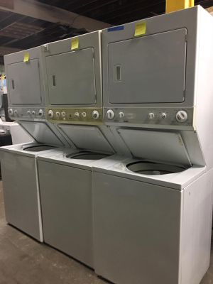 Stackable washer and dryer combo in excellent condition $299.00 & Up for Sale in Baltimore, MD