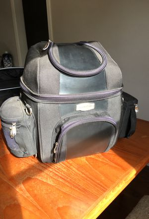 Kuryakyn motorcycle touring/rack/trunk/seat bag- used on a Harley Davidson for Sale in San Diego, CA