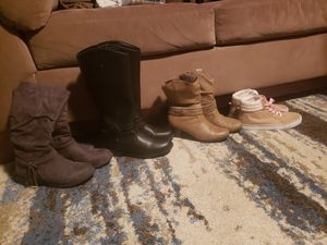 Girls size 5 boots for Sale in Middletown, PA